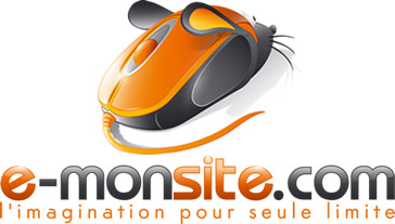 E monsite logo